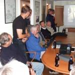 FJS-dag 2009, Viljo visar bilder i befälsbaracken