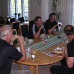 FJS-dag 2008, frukost på Gula Villan