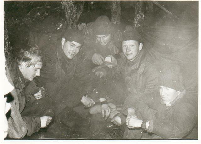 1:a grupp på andra pluton