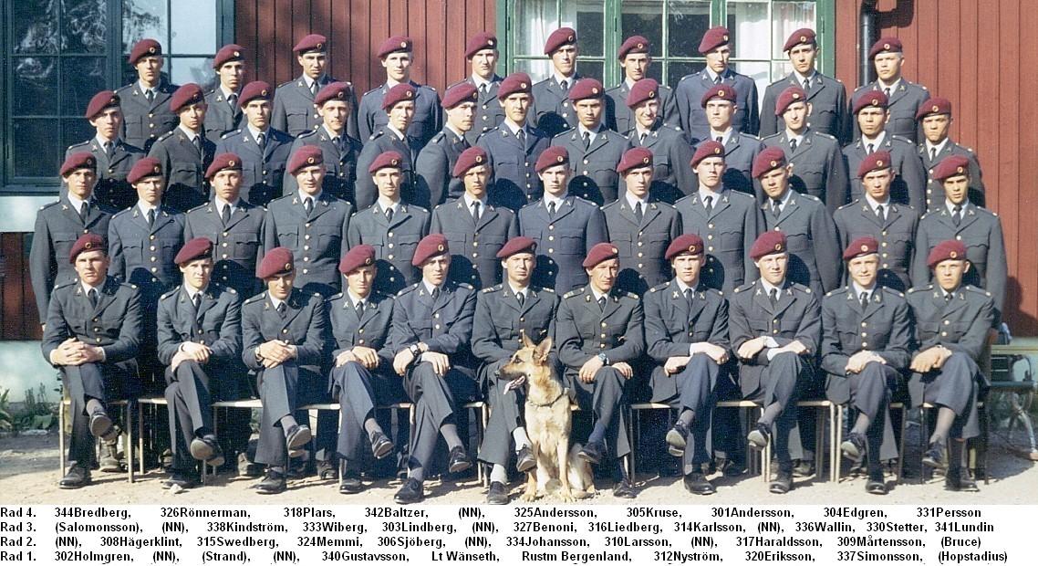 FJS tredje pluton 1970/71