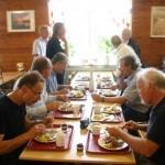 FJS-dag 2008, middag i värnpliktsmatsalen