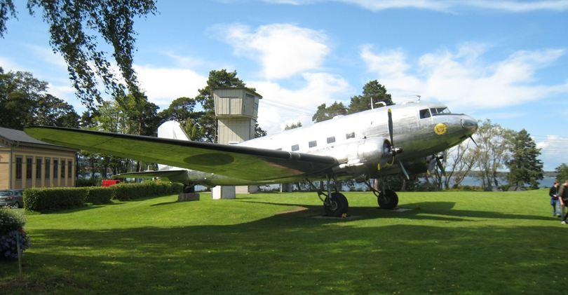 FJS-dag 2009, DC 3:an i lägret