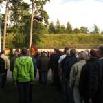 FJS-dag 2009, uppställning i lägret